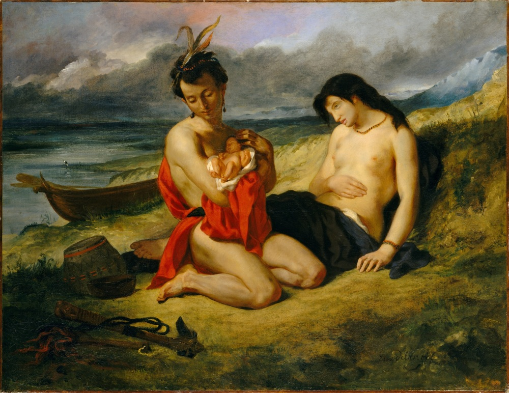 Eugène_Delacroix_-_Les_Natchez,_1835_(Metropolitan_Museum_of_Art)