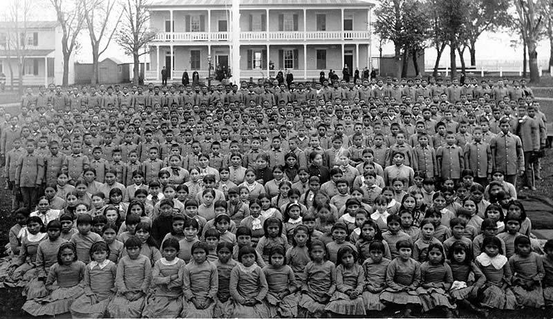 Il genocidio dei Nativi nelle Scuole Residenziali Indiane inCanada