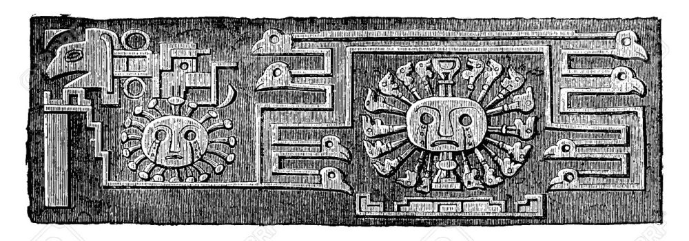 41721650-Another-detail-of-the-Tiahuanaco-monolith-door-vintage-engraved-illustration-Industrial-encyclopedia-Stock-Vector.jpg
