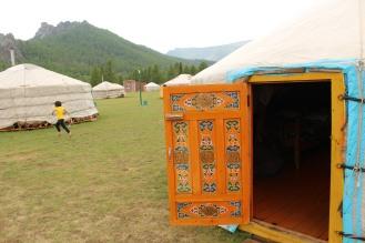 Gher nel Parco Nazionale di Gorkhi-Terelj.