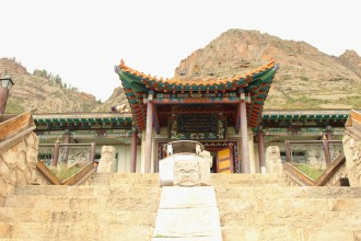 Aryabal Buddhist Meditation Center nel Parco Nazionale di Gorkhi-Terelj.