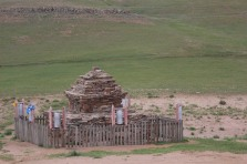 Stupa buddhista.