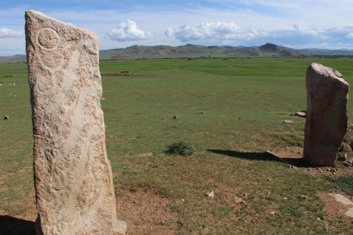 Un complesso di Stele del Cervo.
