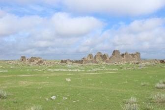 Antica fortezza Uigur.