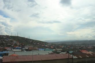 Colline intorno a Ulan Bator.