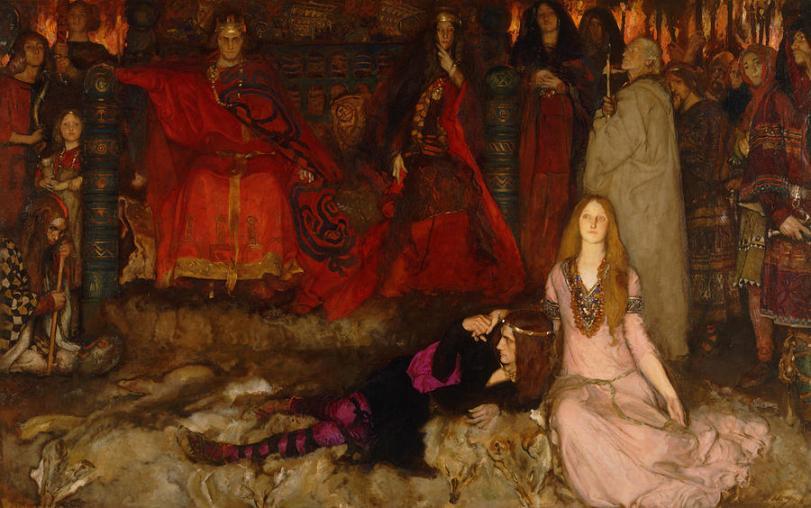 the-play-scene-in-hamlet-act-iii-scene-2-edwin-austin-abbey