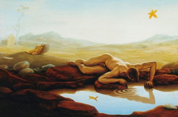 Richard Baxter - Narcisus and Echo