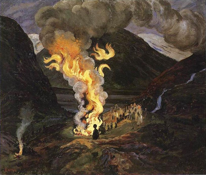 St-Johns-Eve-Fire-painting-Astrup_Jonsokbål-PUBLIC-DOMAIN