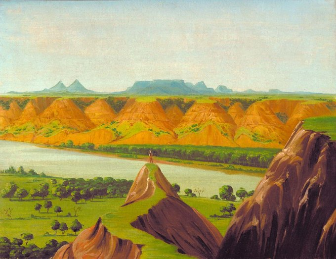 Big Bend on the Upper Missouri, 1900 Miles above St. Louis