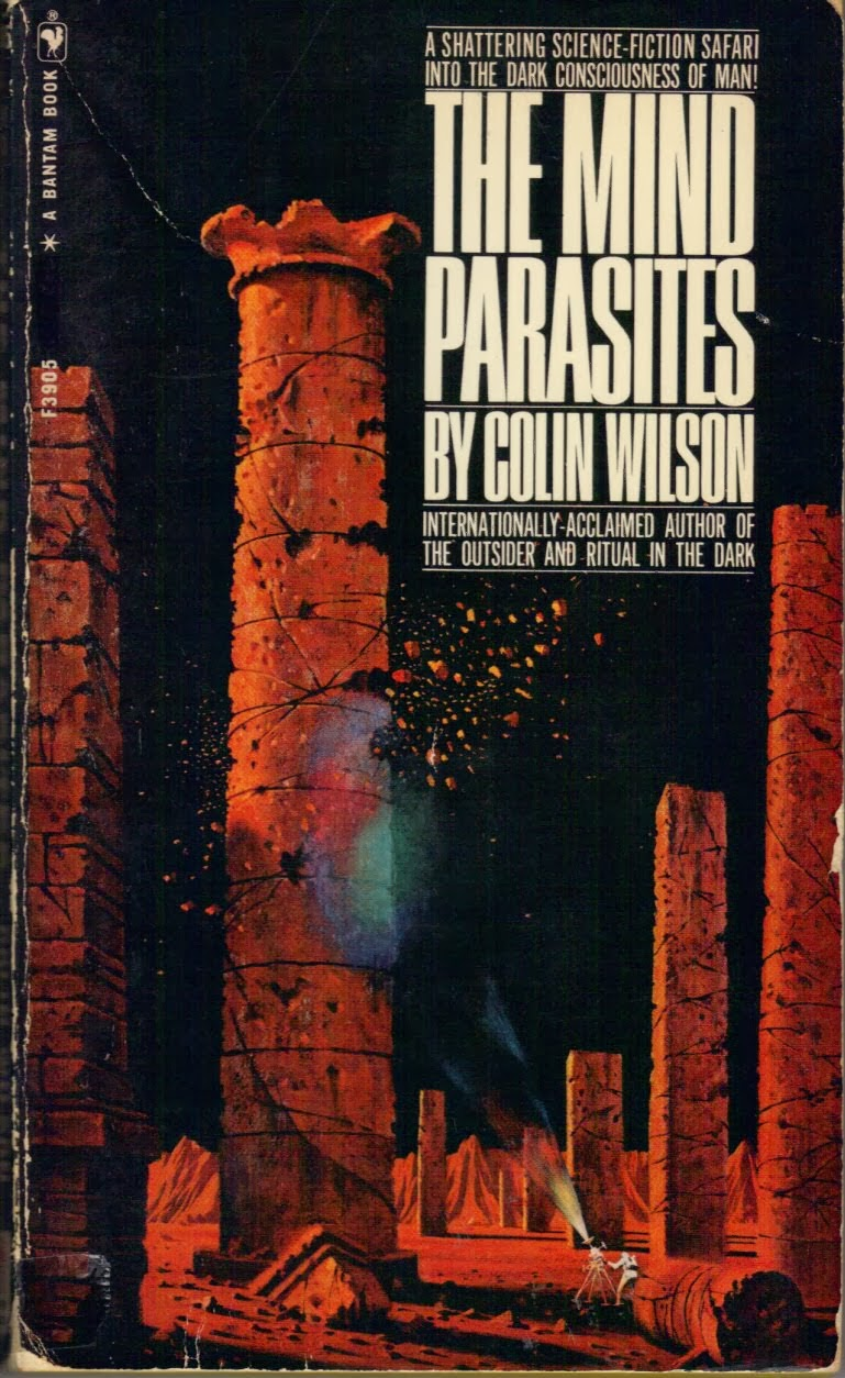 The Mind Parasites, (Dec 1968, Colin Wilson, publ. Bantam Books, #F3905, $0.50, 196pp, pb).JPG