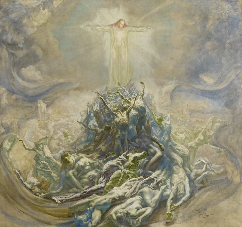 jean-delville-lhomme-dieu-the-god-man-1900