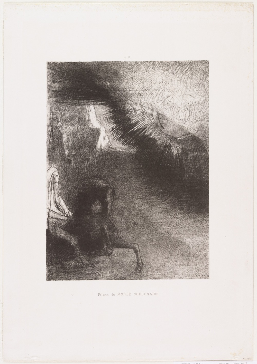 Odilon Redon. Pilgrim of the Sublunary World 1891