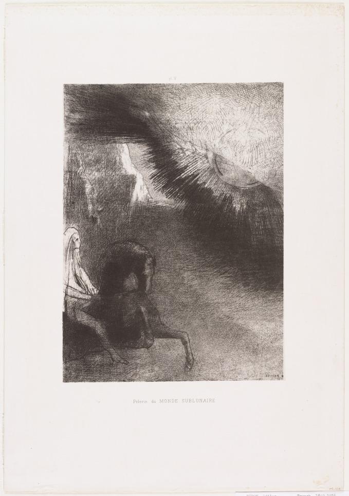 Odilon Redon. Pilgrim of the Sublunary World 1891