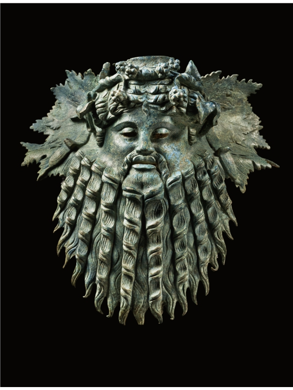 Mask-of-Silenus_Hellenistic-Art-ca-1st-Century-BC_bronze_The-Merrin-Gallery_USA