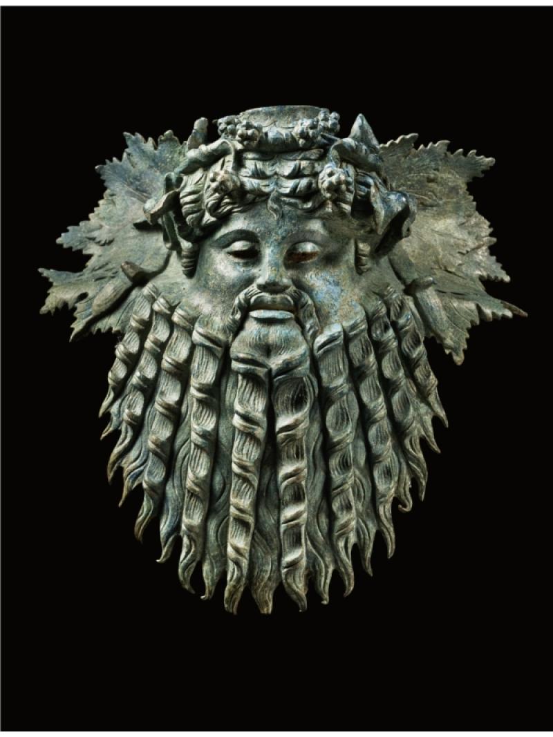 Mask-of-Silenus_Hellenistic-Art-ca-1st-Century-BC_bronze_The-Merrin-Gallery_USA