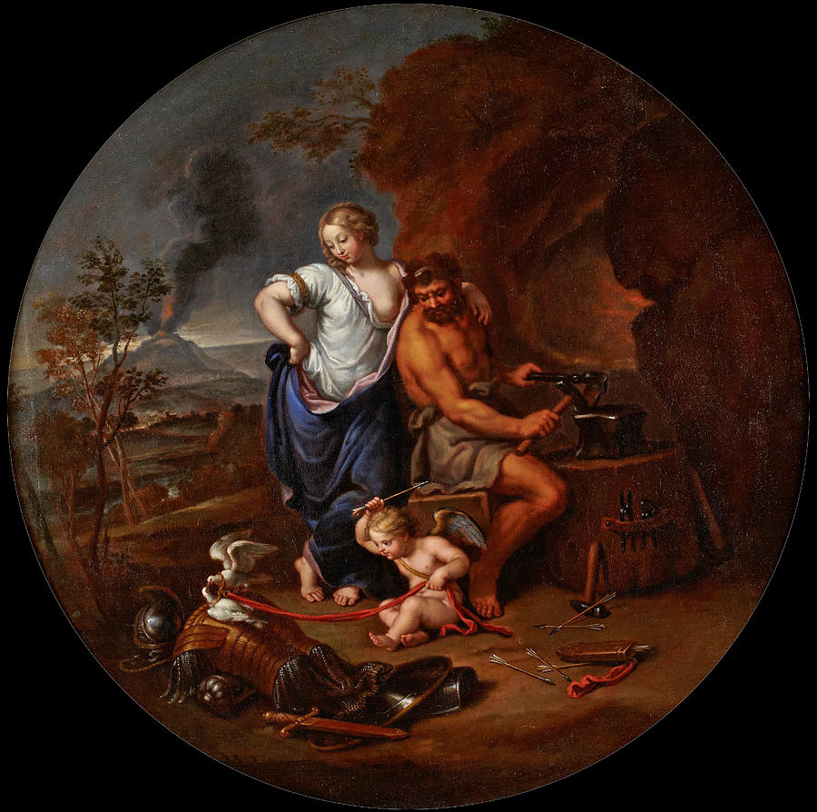 venus-and-vulcan-pierre-mignard