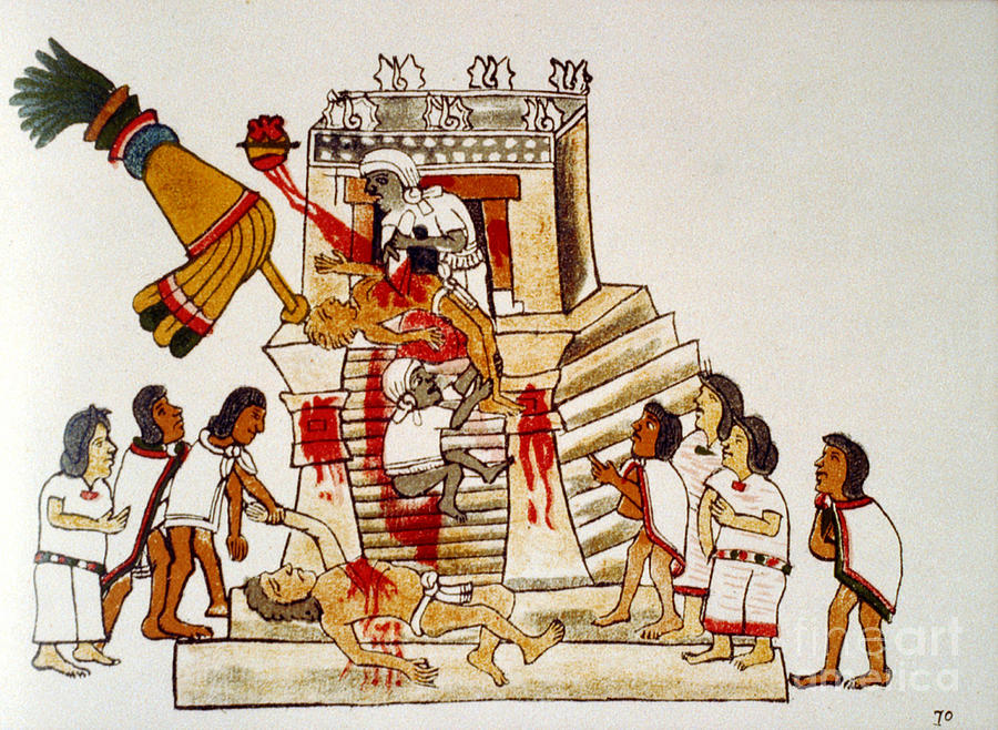 aztec-human-sacrifice-codex-photo-researchers