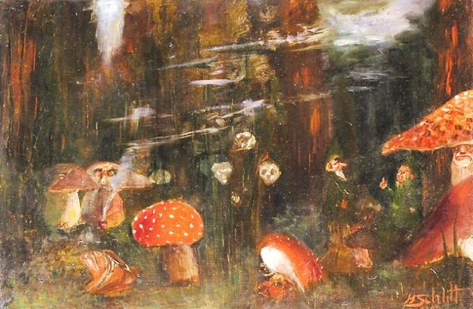 art-illustration-magic-mushrooms