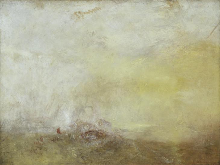 Sunrise with Sea Monsters c.1845 by Joseph Mallord William Turner 1775-1851