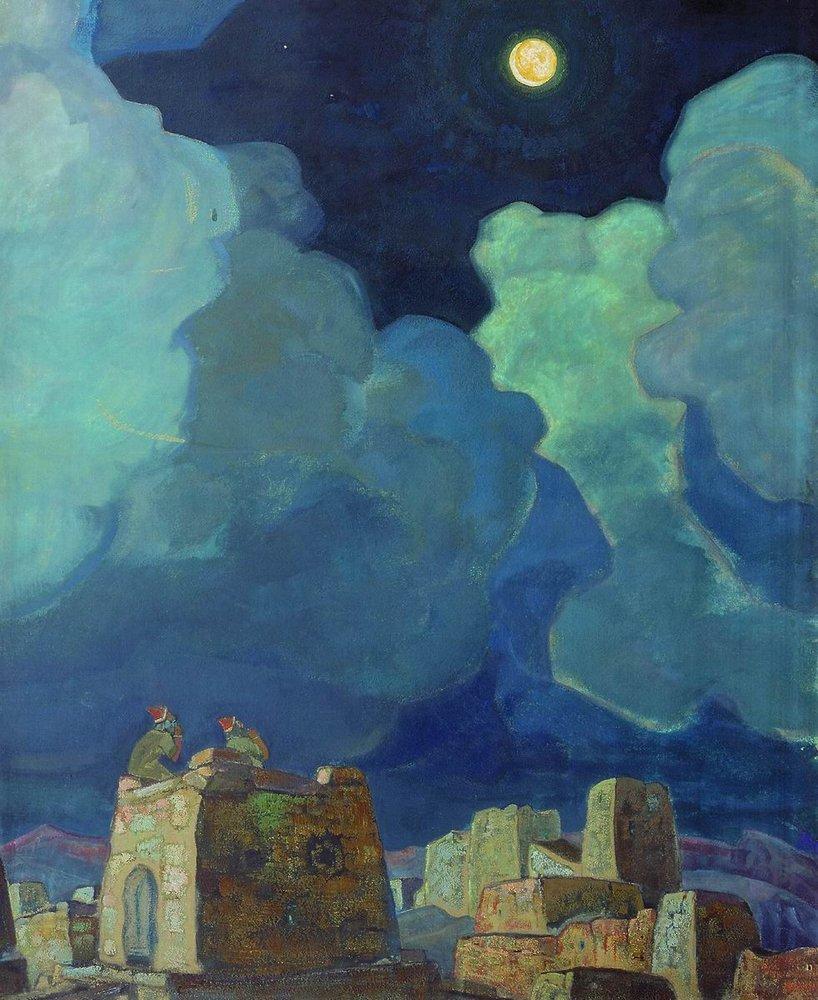 Nicholas Roerich, Moon People 1915