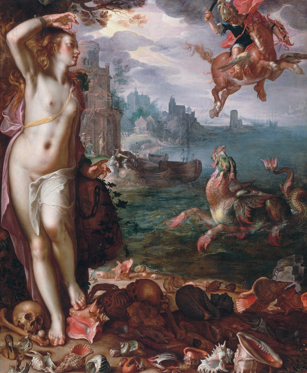 Perseus and Andromeda, by Joachim Wtenwael