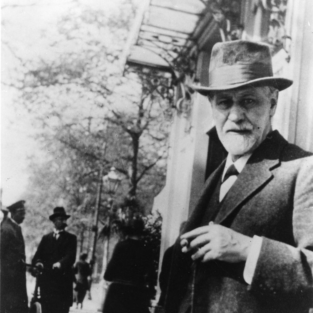 Sigmund Freud 1920 in Den Haag (c) Sigmund Freud Privatstiftung